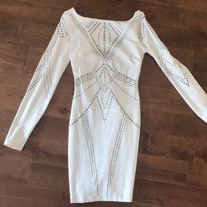 Bebe mini white dress
